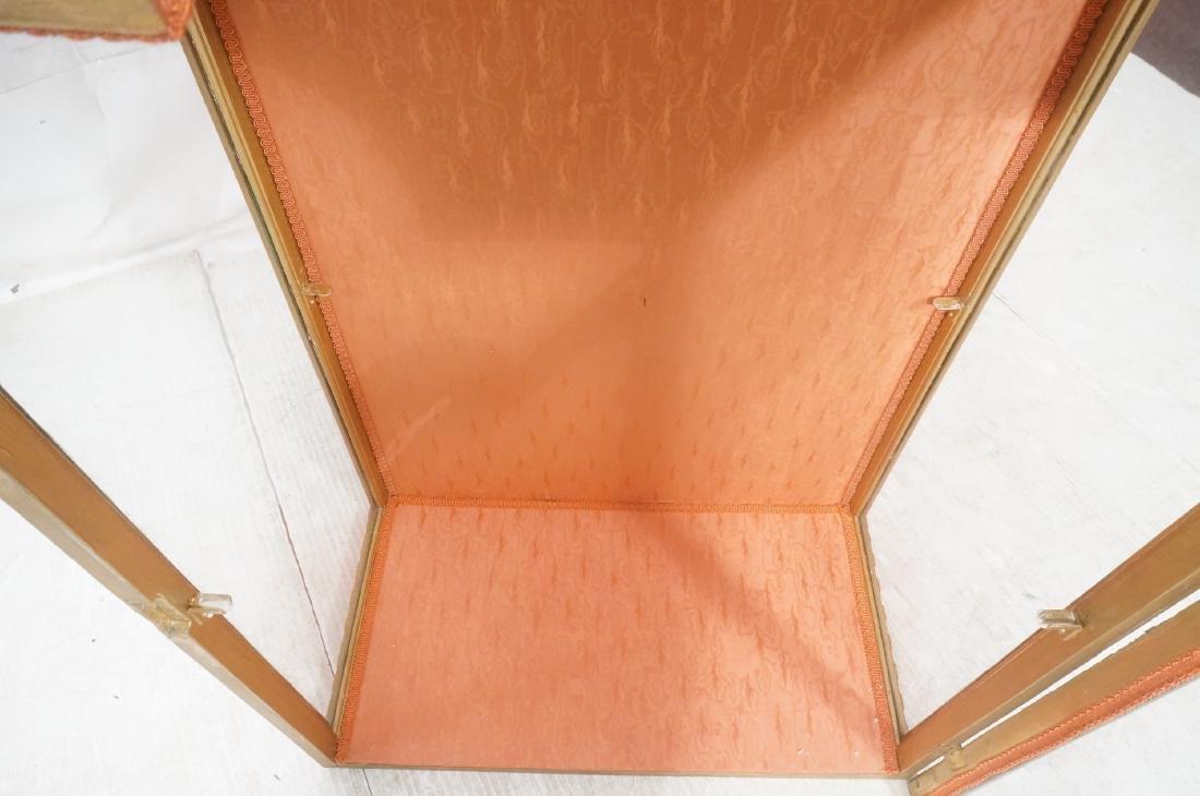 Decorative Molding Curio Display Cabinet. Arched - 9