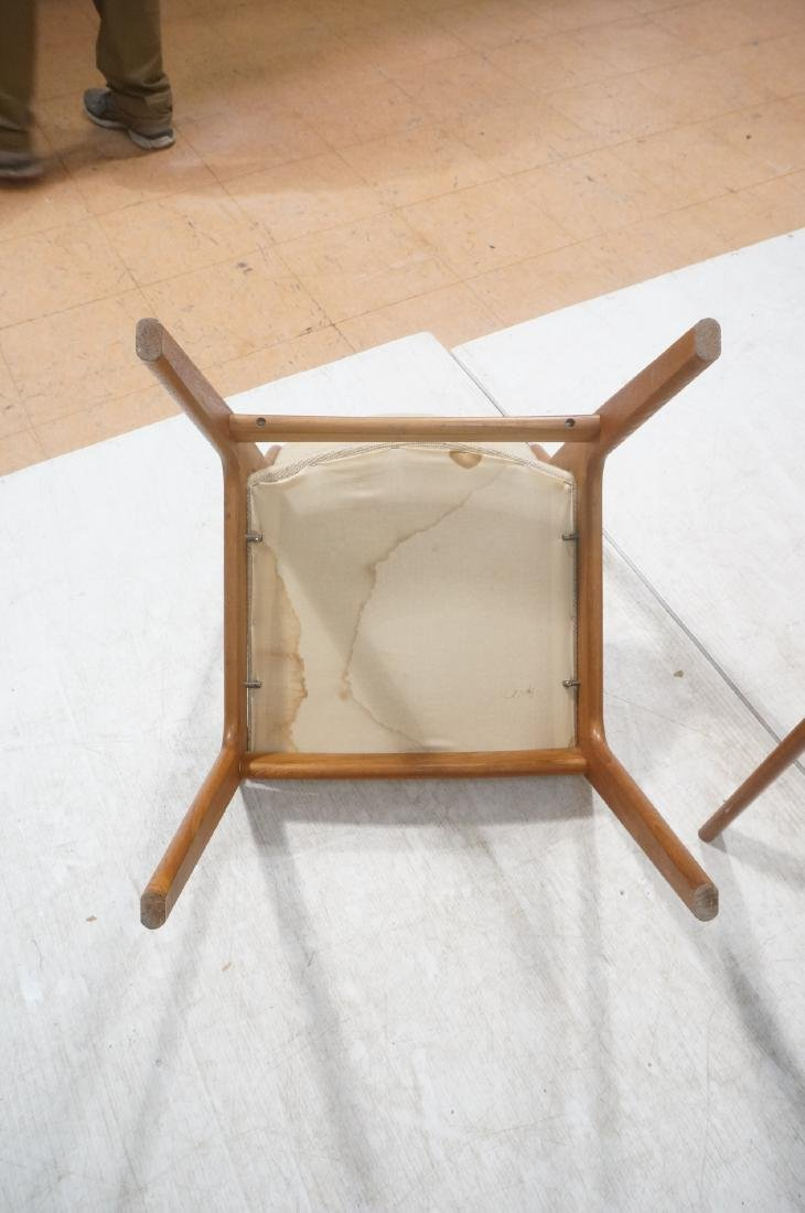 Set 8 Danish Modern Teak Dining Chairs. All Side - 10