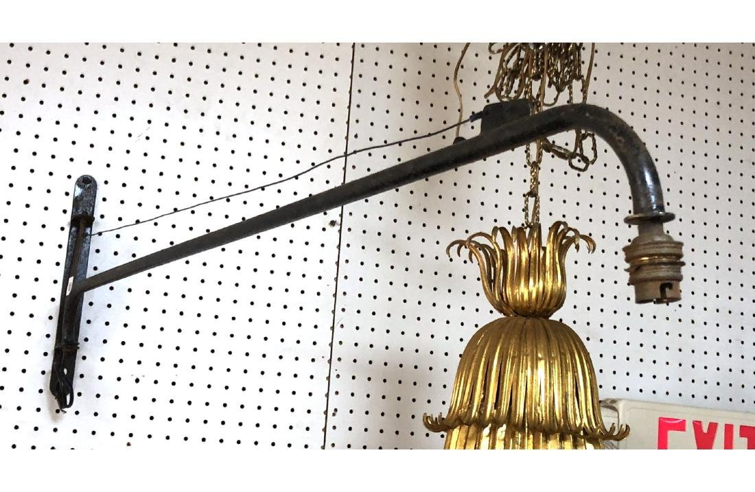 After Jean Prouve Potence Wall Sconce Lamp. Long - 3