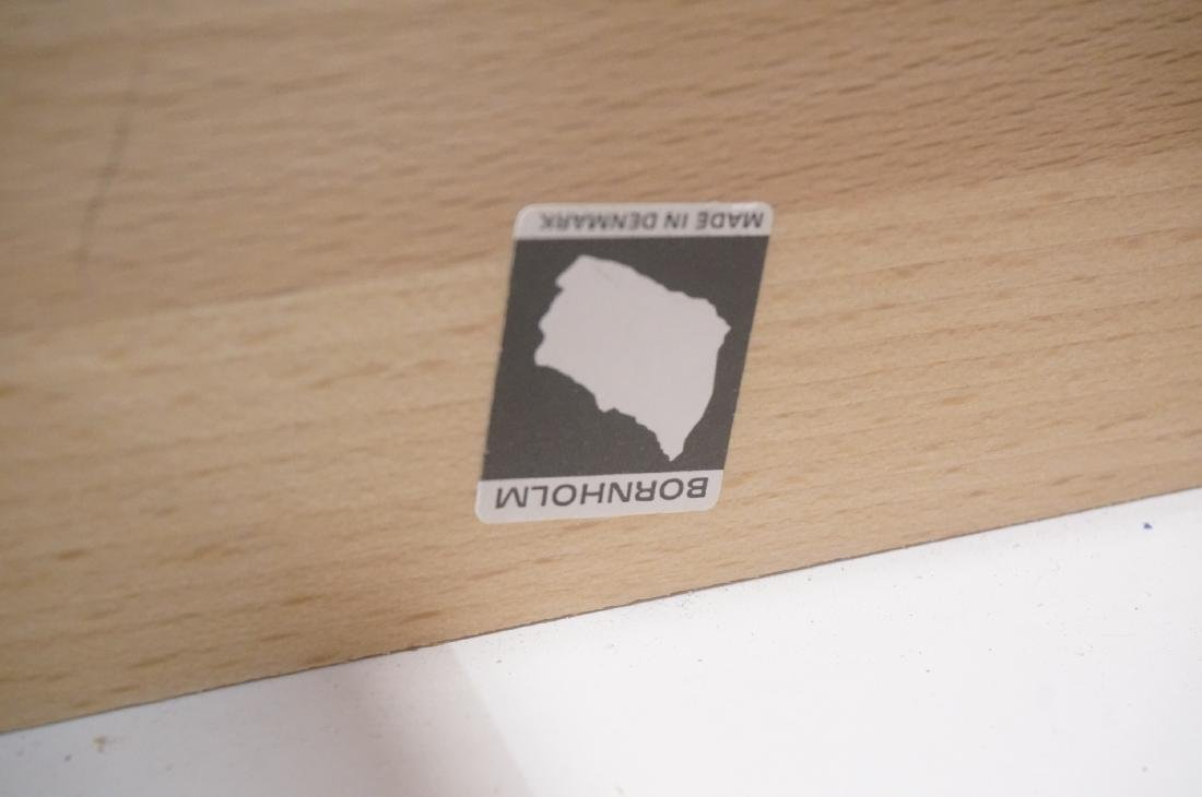 Rosewood BORNHOLM Danish Modernist Writing Desk. - 5