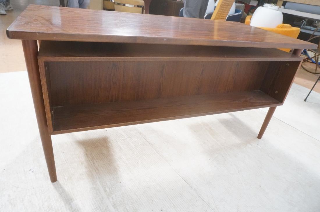 Rosewood BORNHOLM Danish Modernist Writing Desk. - 6