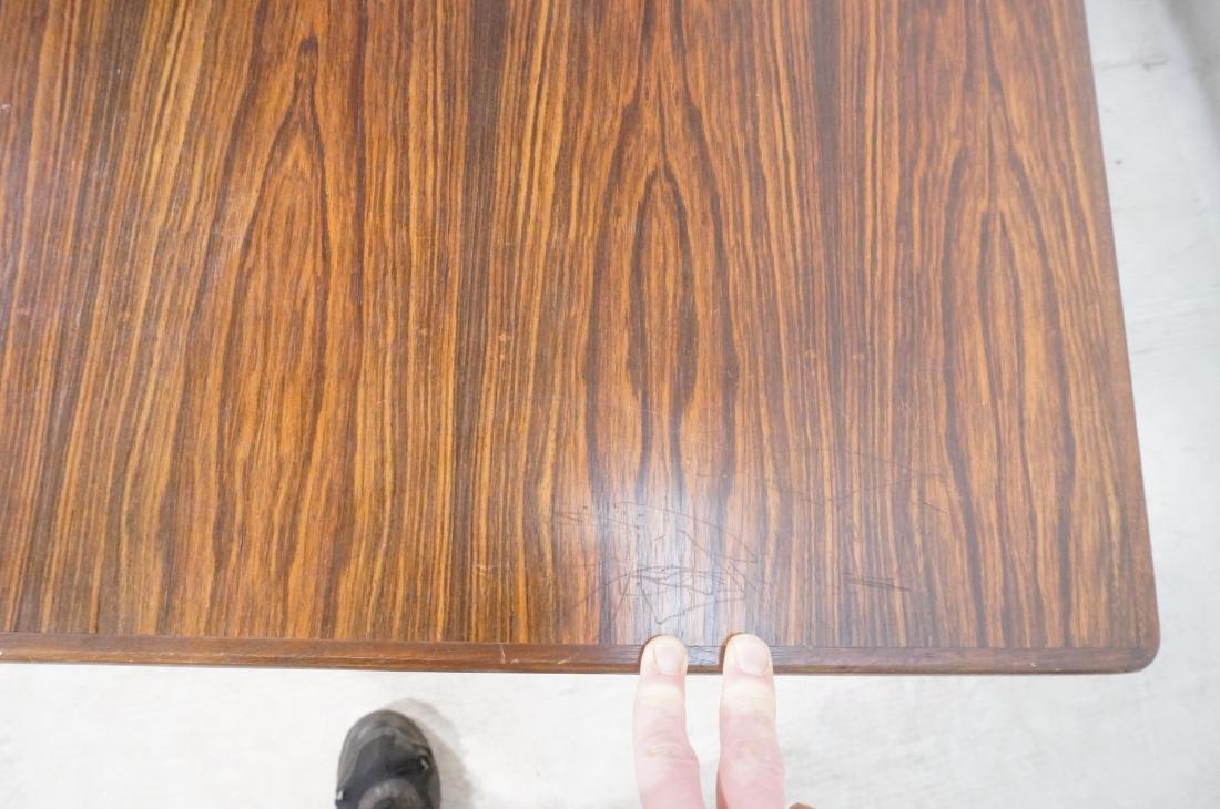 Rosewood BORNHOLM Danish Modernist Writing Desk. - 8