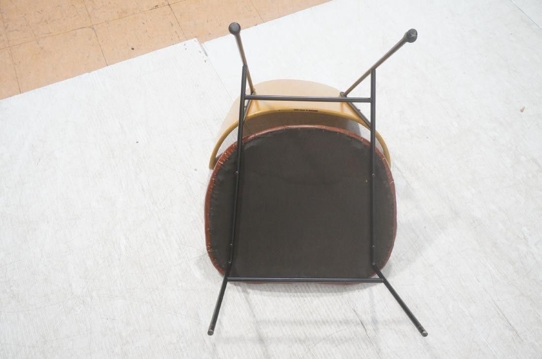 KOFOD LARSEN  Danish Modern Lounge Chair. Leather - 8