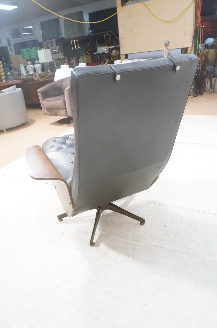 Modernist Lounge Chair & Ottoman. Plycraft style - 4