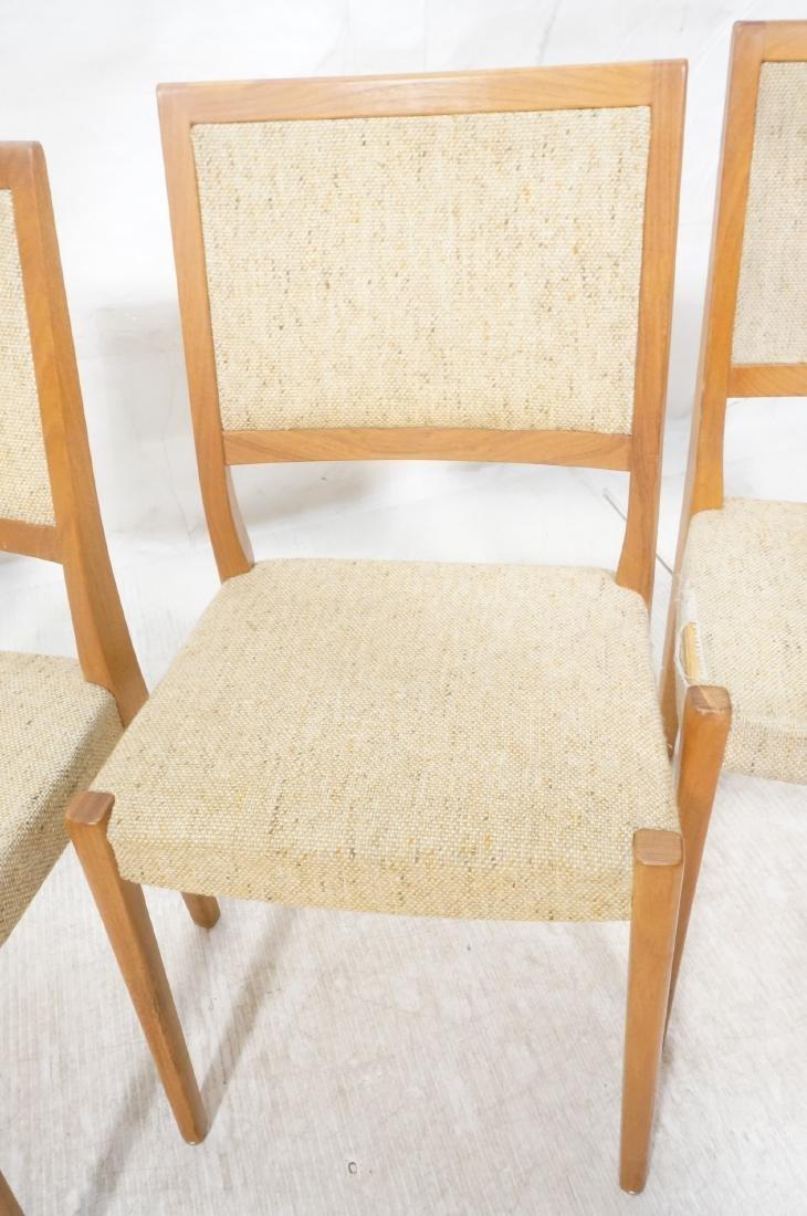Set 4 Danish Modern Teak Dining Chairs. SVEYARDS. - 7