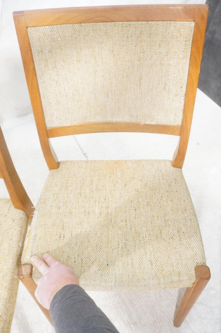 Set 4 Danish Modern Teak Dining Chairs. SVEYARDS. - 8