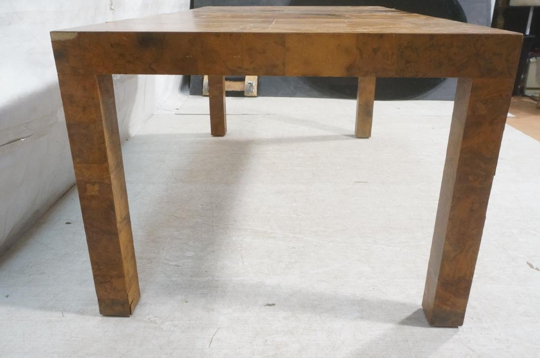 Paul Evans Attributed Patchwork Dining Table. Bur - 6
