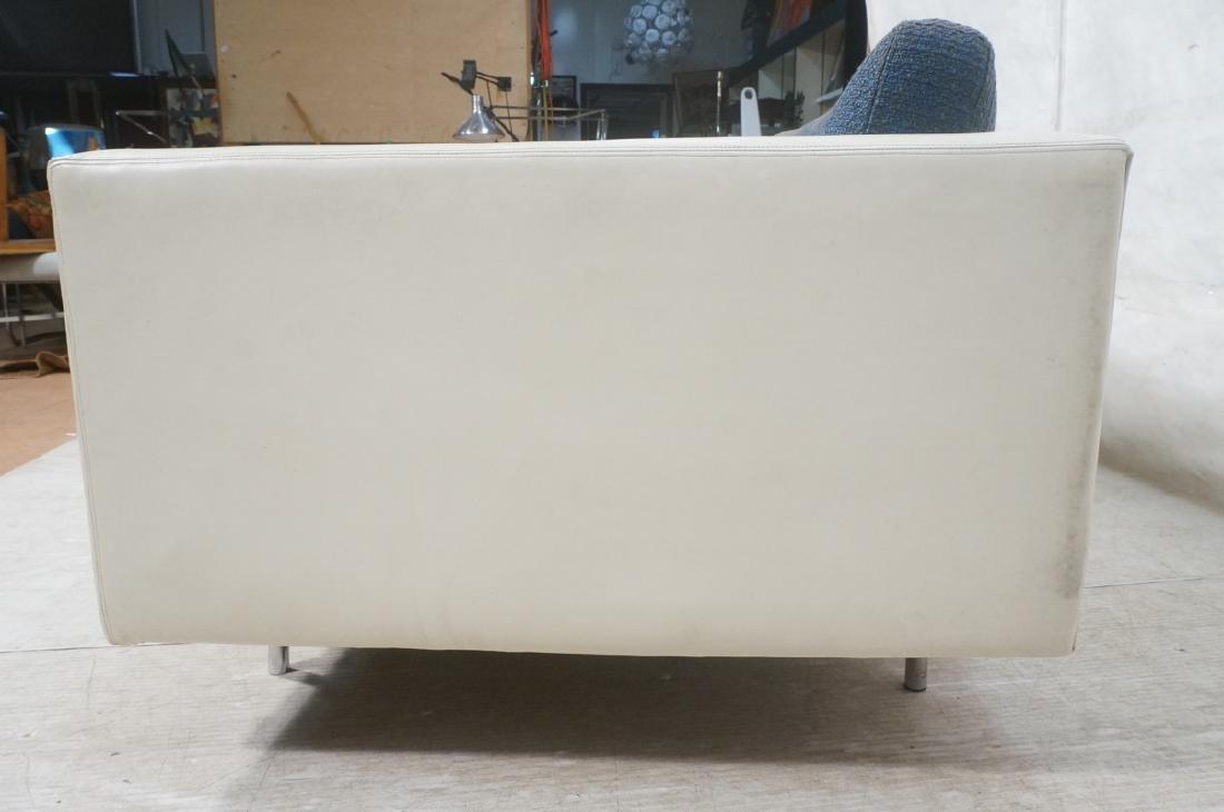 Thayer Coggin Milo Baughman Loveseat Sofa. White - 6