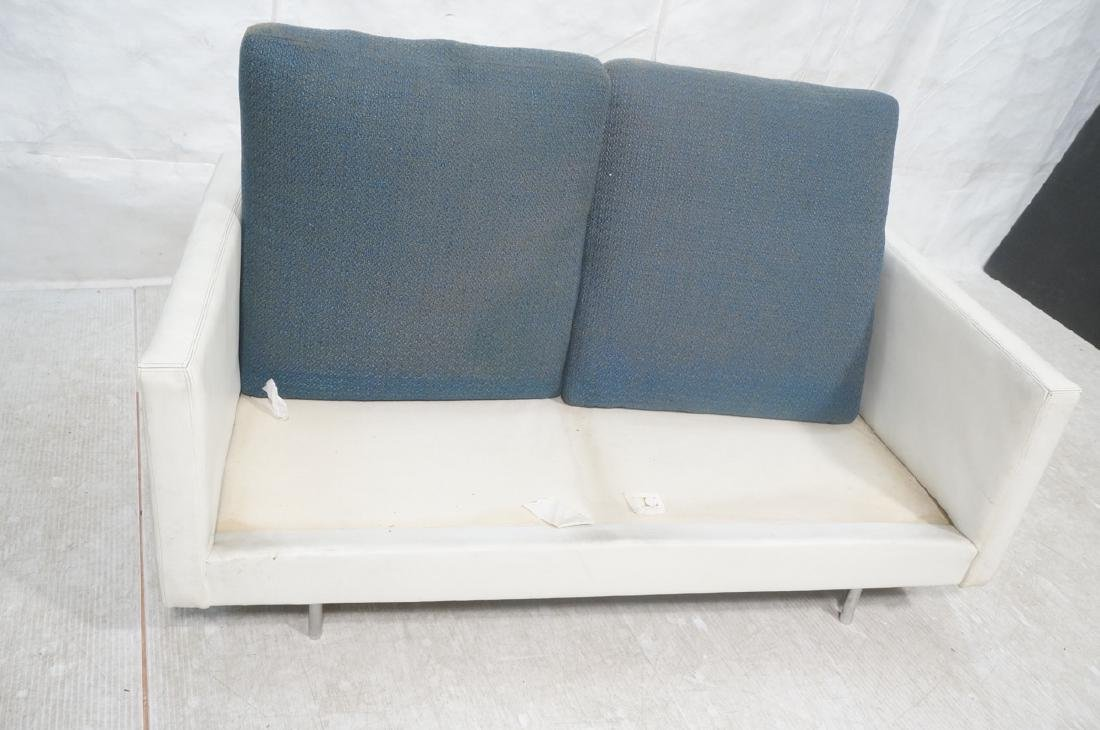 Thayer Coggin Milo Baughman Loveseat Sofa. White - 9