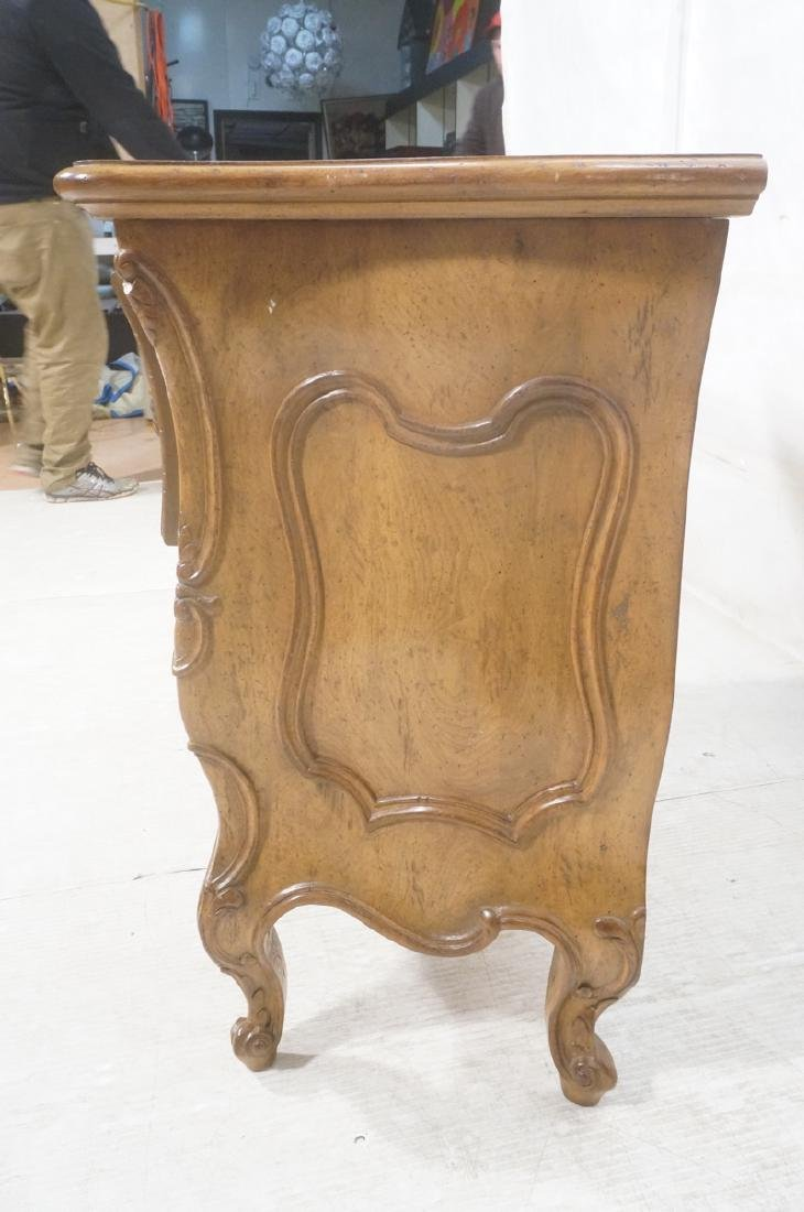 Decorator Antique Style Bombe Chest Commode. Serp - 3