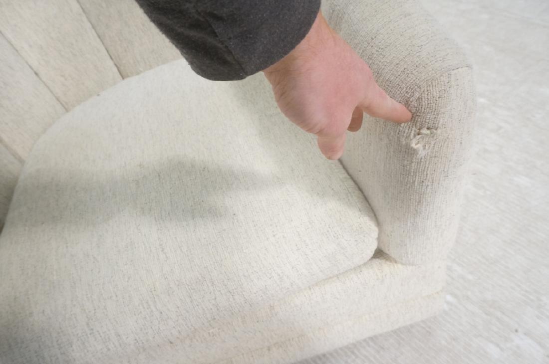Pr PRECEDENT Barrel Back Upholstered Lounge Chair - 4