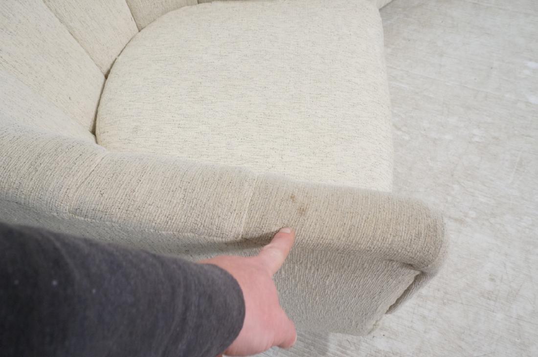 Pr PRECEDENT Barrel Back Upholstered Lounge Chair - 5