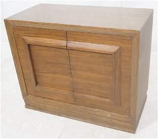 Modernist Storage Cabinet Credenza Panel frame f