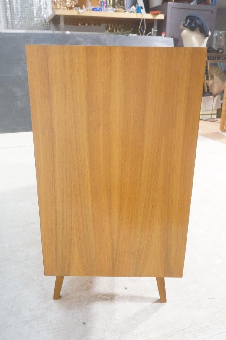 Mid Century Modern Blond Wood Stereo Cabinet. Two - 4