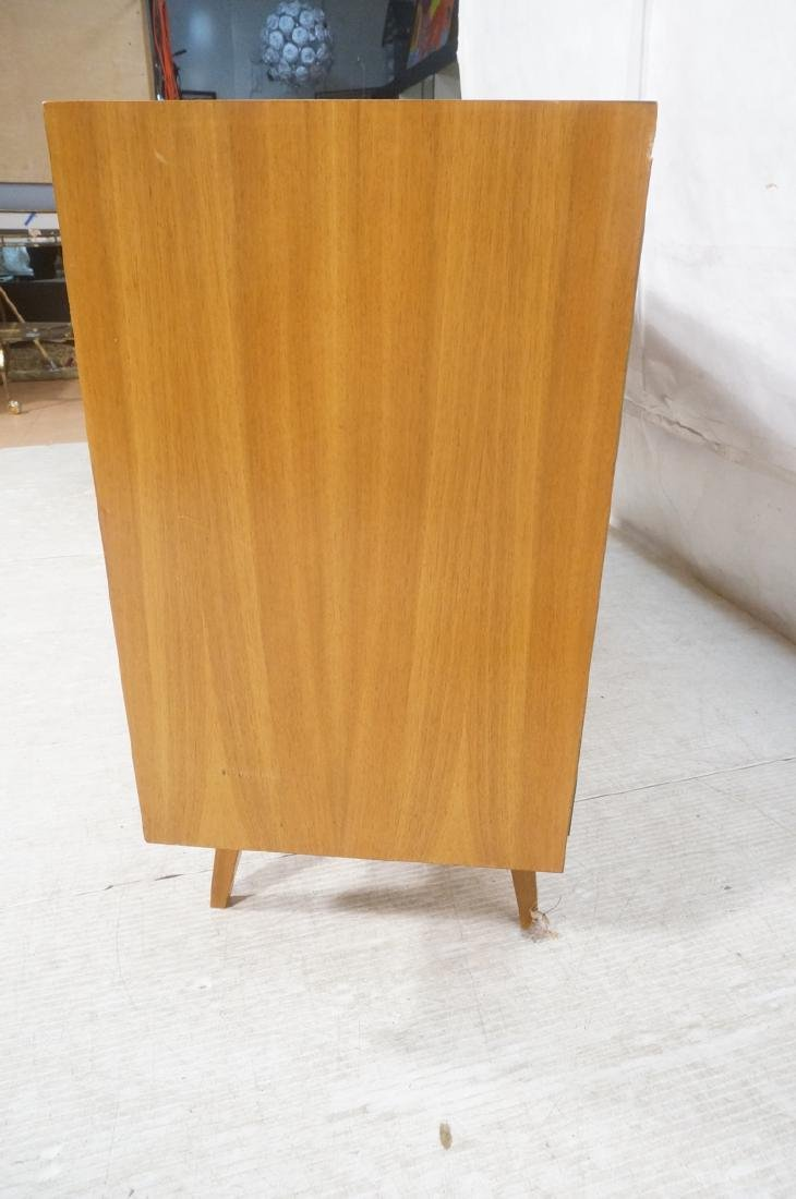 Mid Century Modern Blond Wood Stereo Cabinet. Two - 6