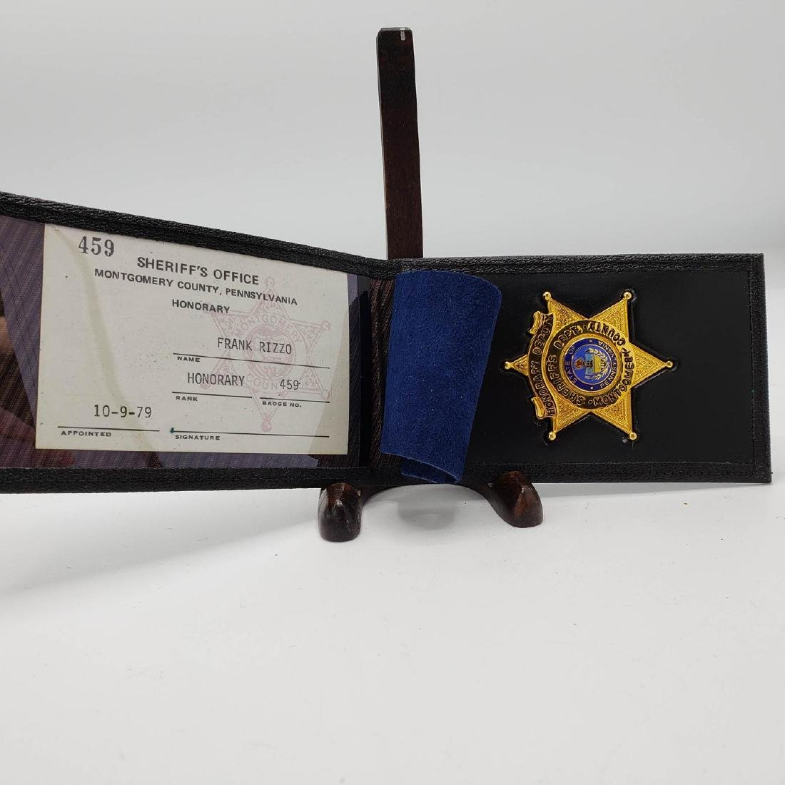Montgomery County Sheriffs Office Frank Rizzo Hon - 2