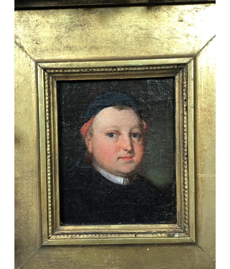 Vintage Portrait Oil Painting. Portrait of man in - 2