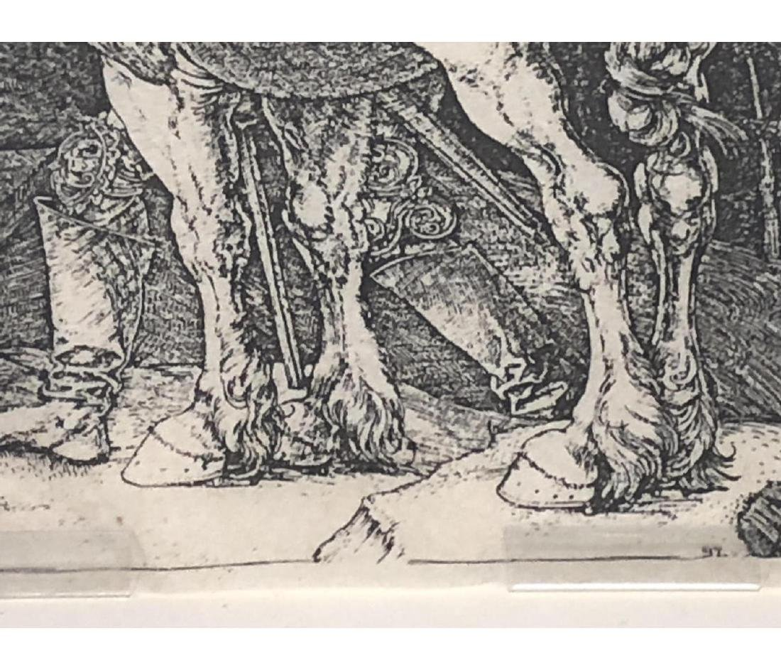 4 Early Bookplate Prints. Horse and Equestrian pr - 7