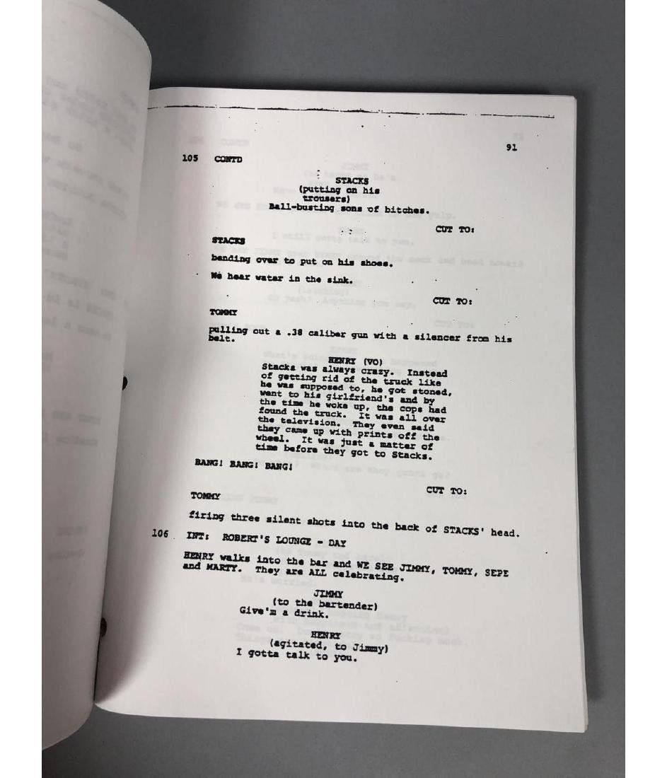 GOODFELLAS Screenplay by Nicholas Pileggi. Direct - 10