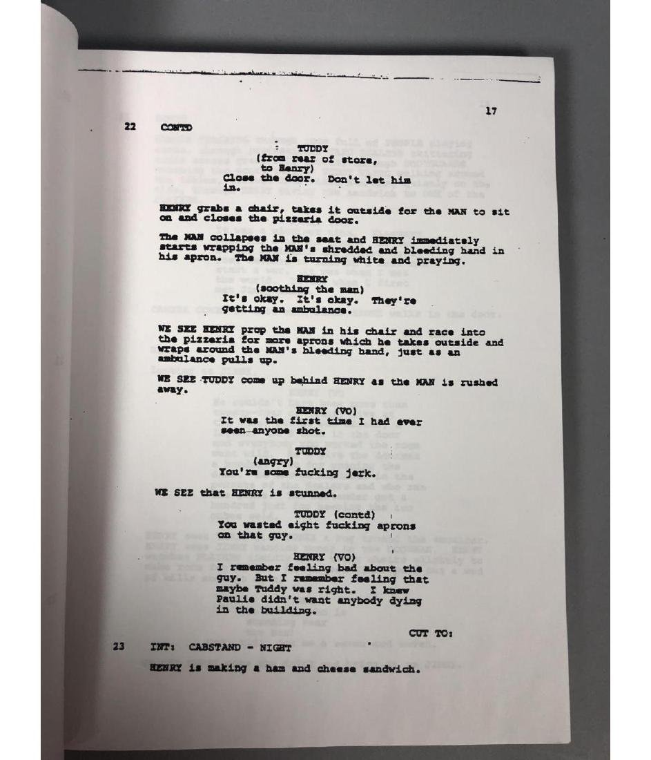 GOODFELLAS Screenplay by Nicholas Pileggi. Direct - 6