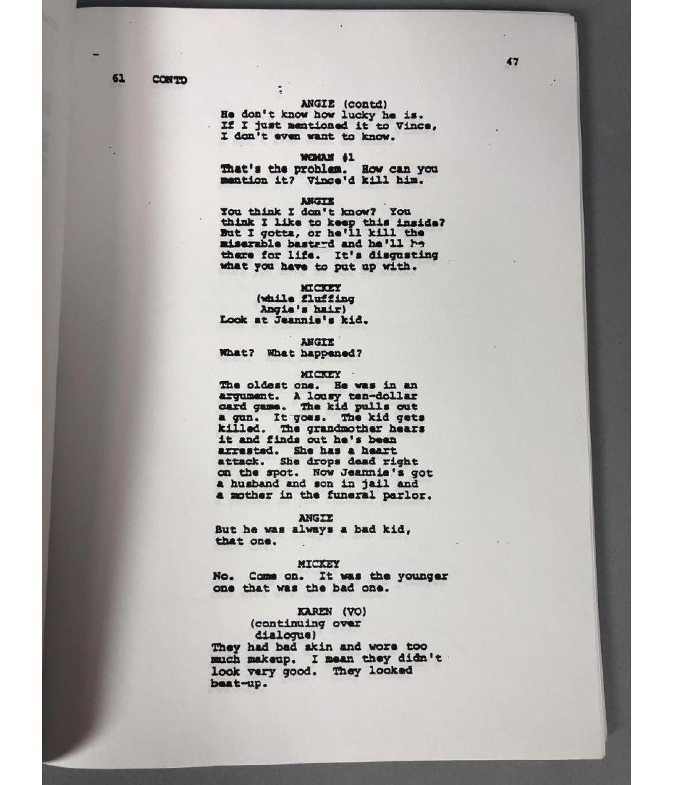 GOODFELLAS Screenplay by Nicholas Pileggi. Direct - 8