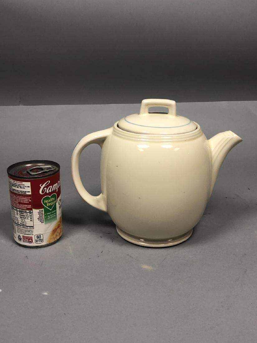 PORCELIER China 1939 NY Worlds Fair Teapot. NYWF. - 4