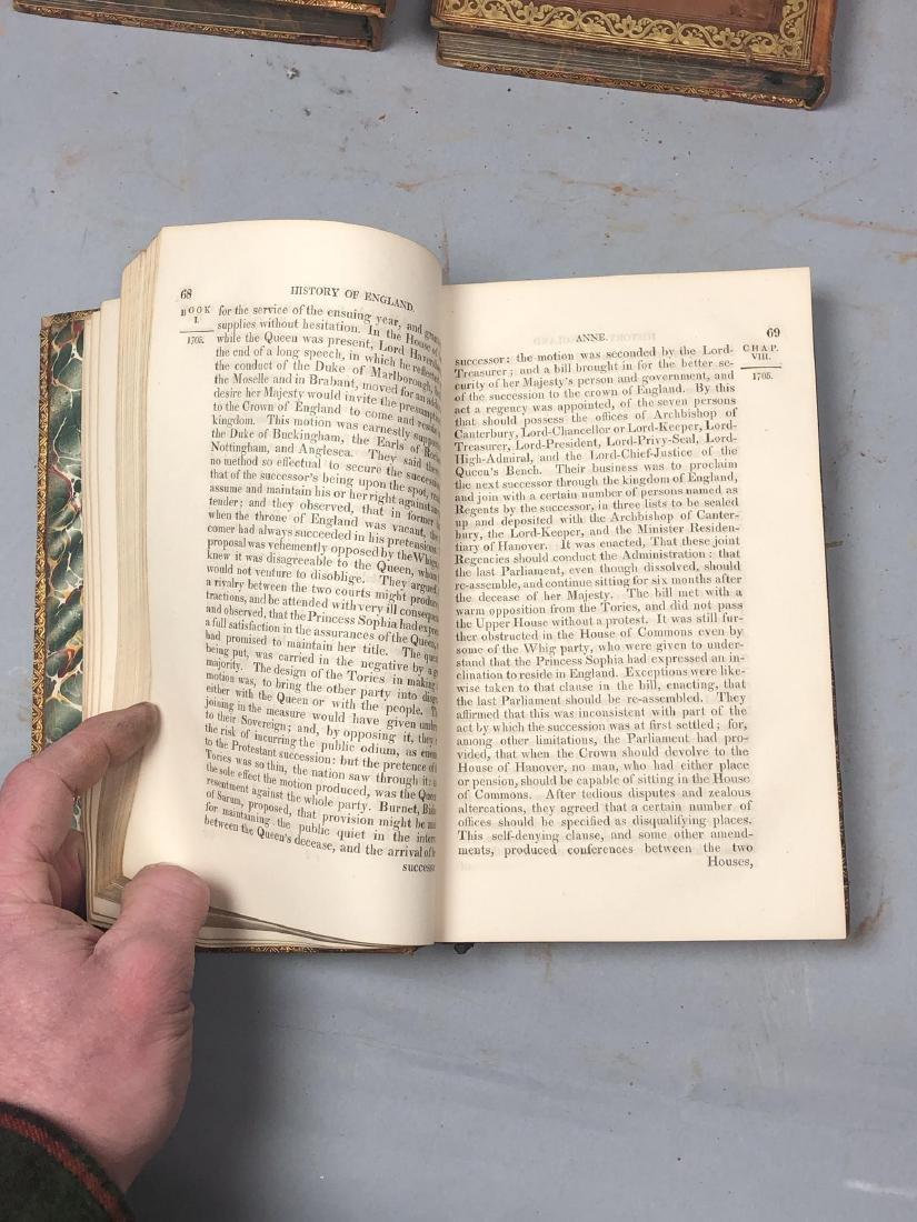 "5 Vols Books. SMOLLETT: ""History of England"" Vols - 10"