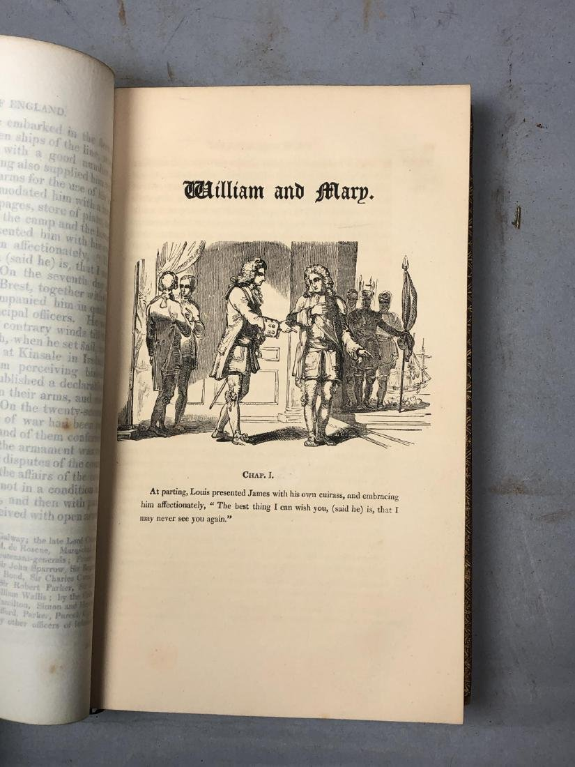 "5 Vols Books. SMOLLETT: ""History of England"" Vols - 7"