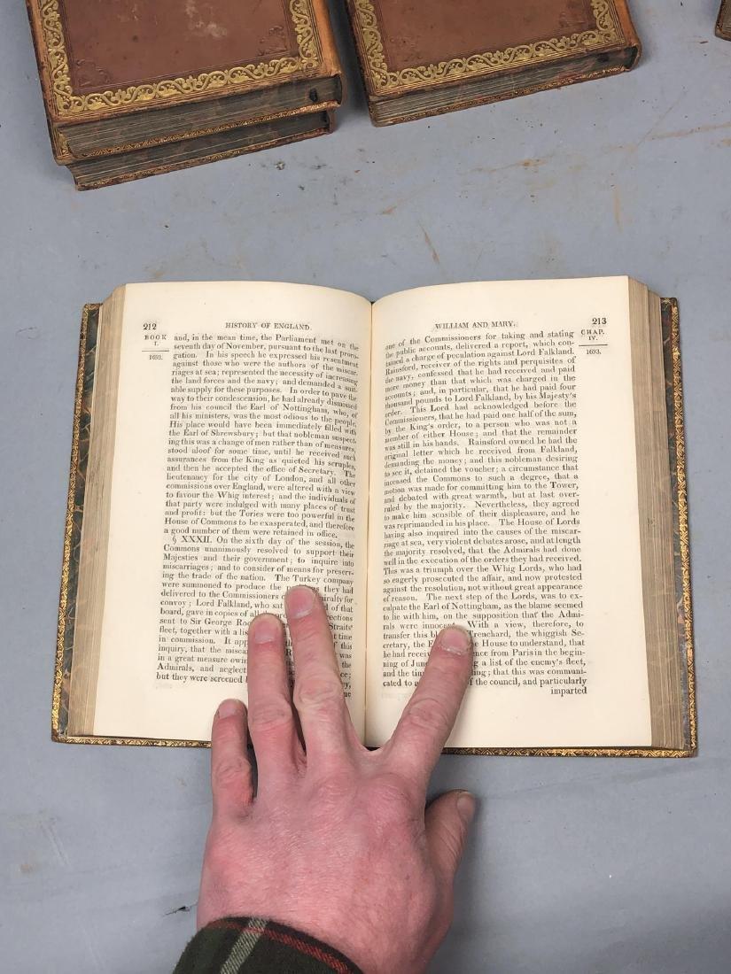"5 Vols Books. SMOLLETT: ""History of England"" Vols - 8"