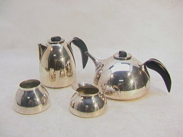 23: BANGUSTO ITALY 4 Piece Coffee Tea Set Modern style