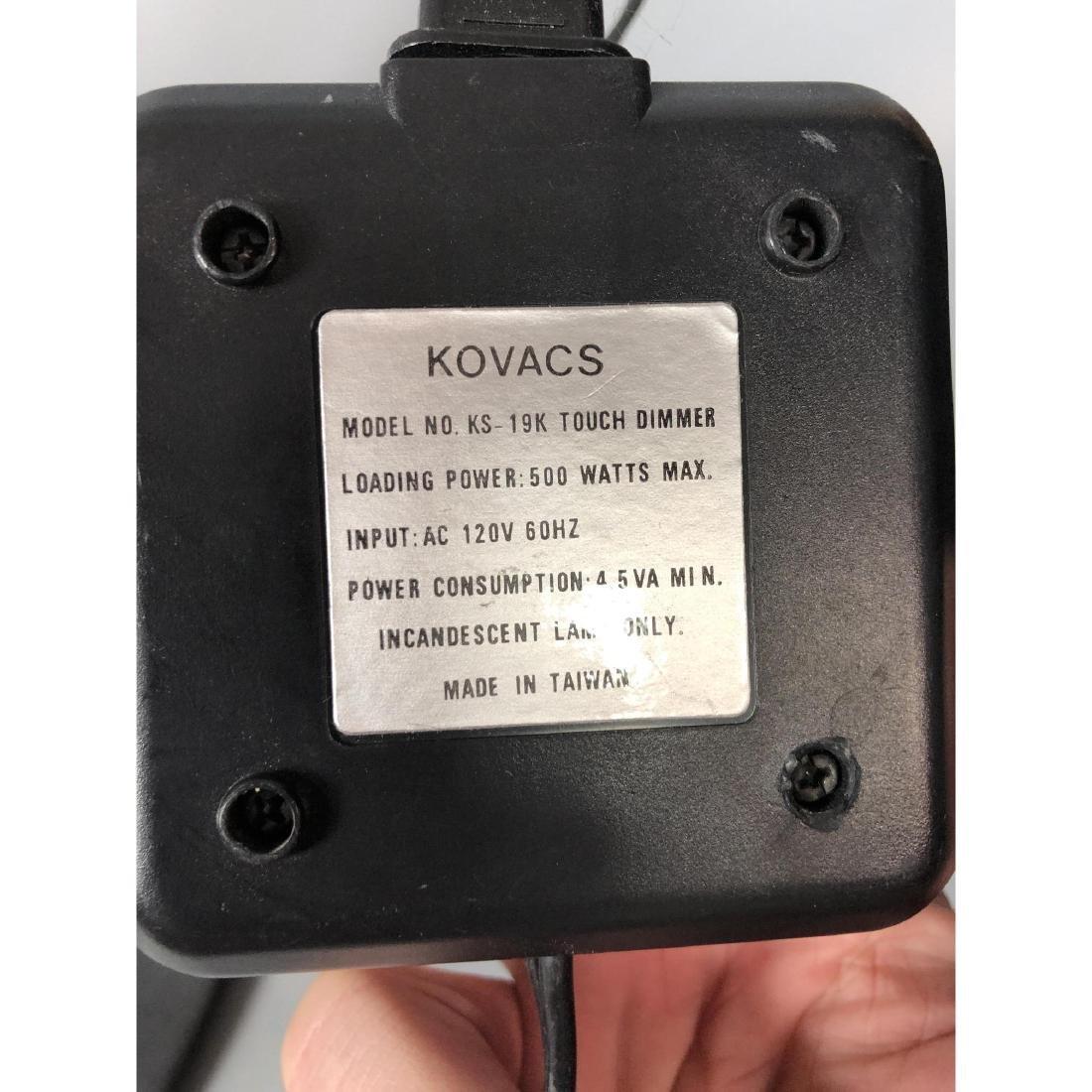 Pr Robert Sonneman for KOVACS Brass Table Floor L - 3