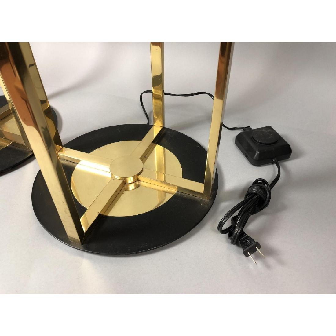 Pr Robert Sonneman for KOVACS Brass Table Floor L - 4