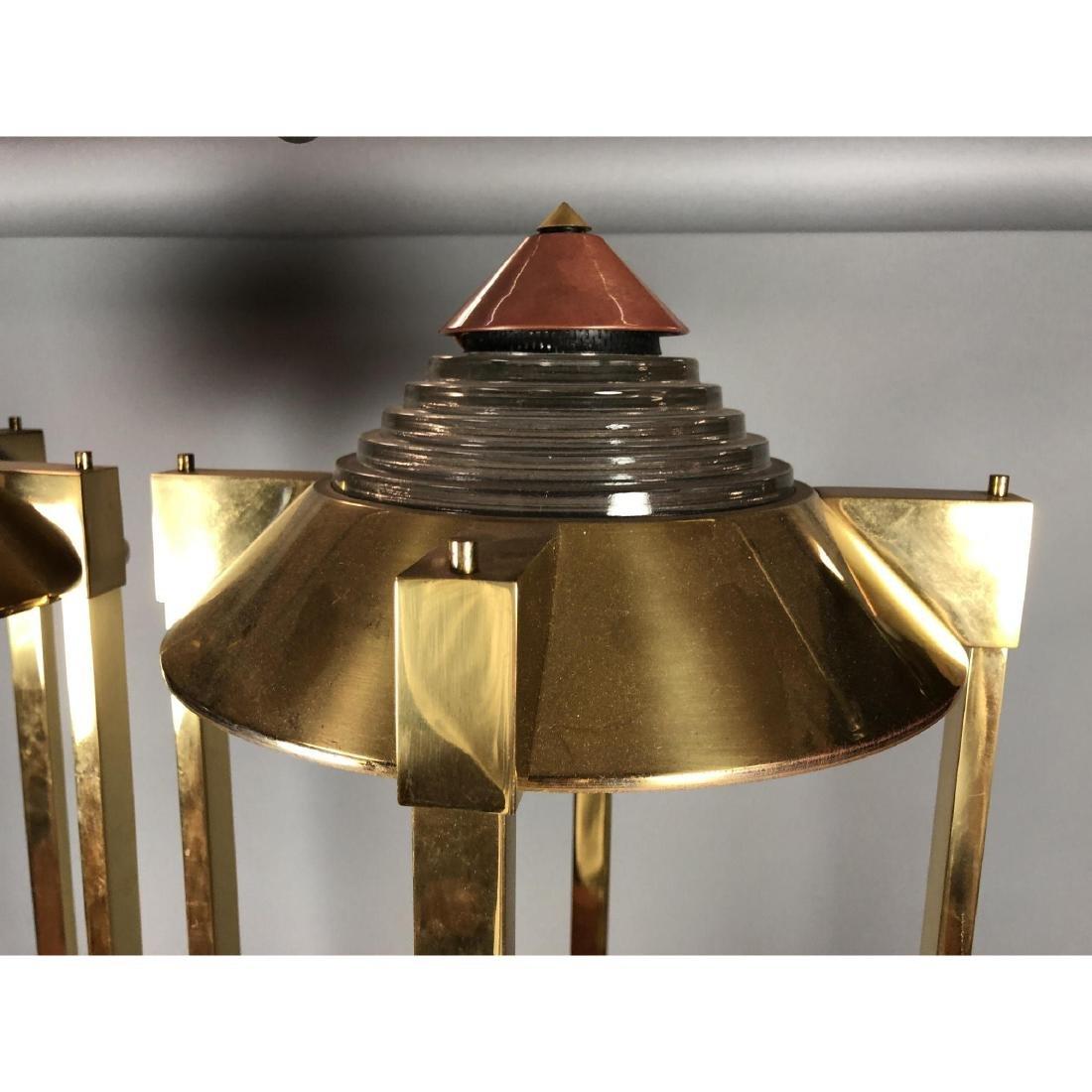 Pr Robert Sonneman for KOVACS Brass Table Floor L - 5