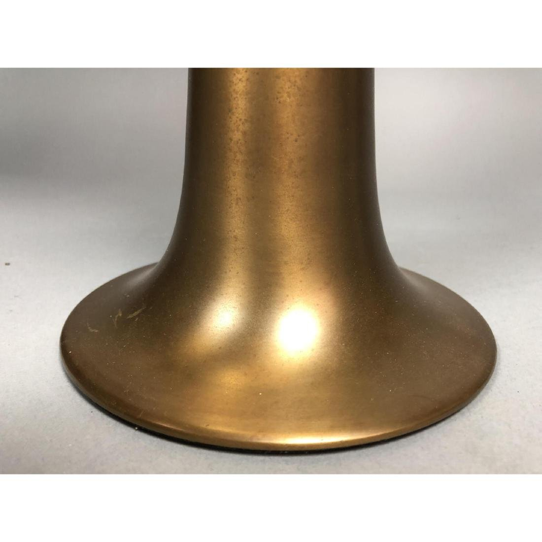 Stylish Modern Brass & Metal Industrial Candle St - 3