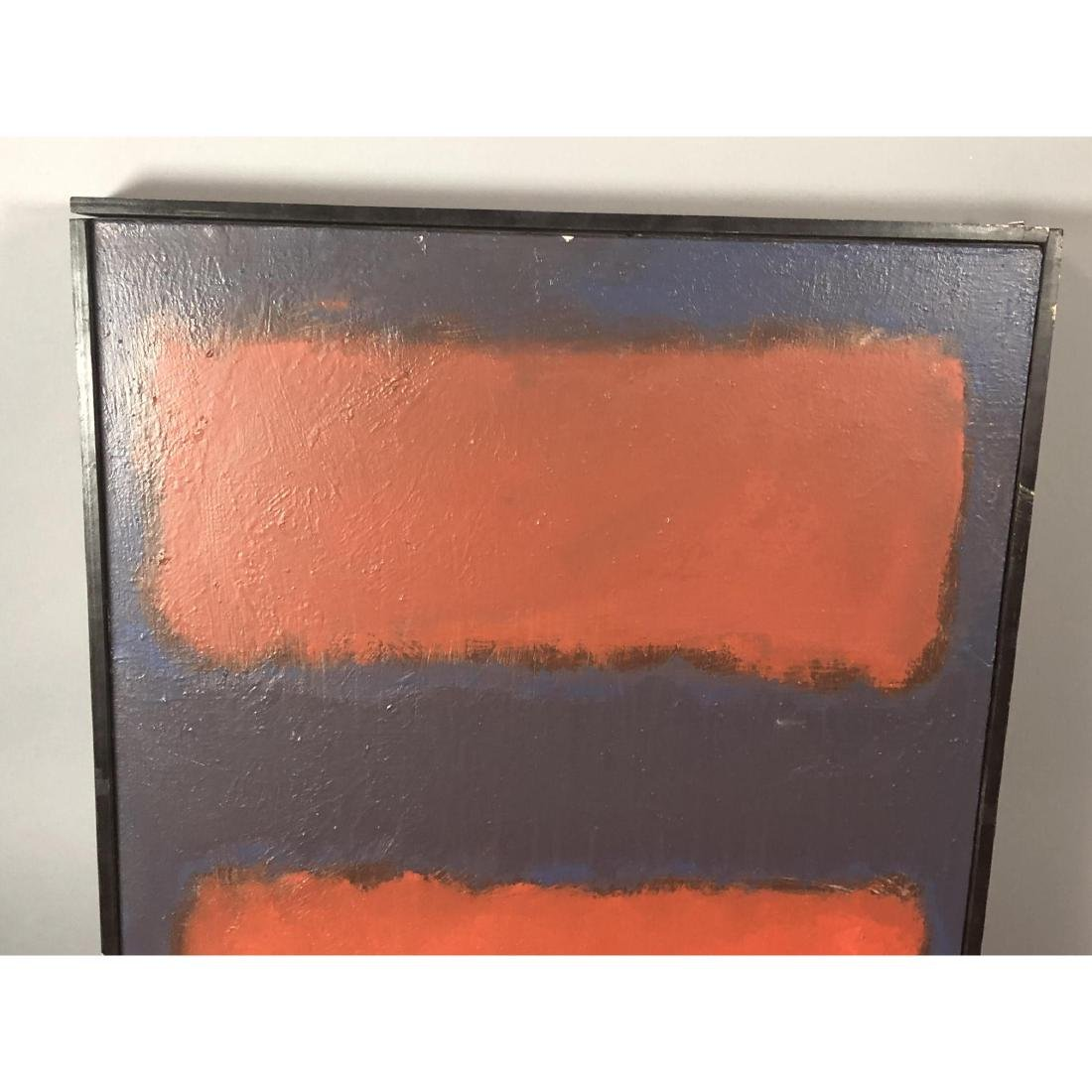 Mark Rothko Style Modernist Abstract Oil Painting - 2