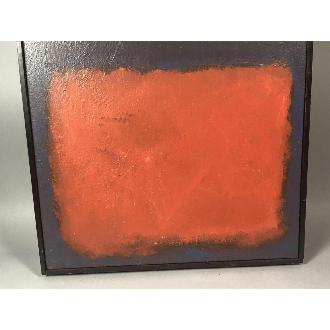 Mark Rothko Style Modernist Abstract Oil Painting - 3