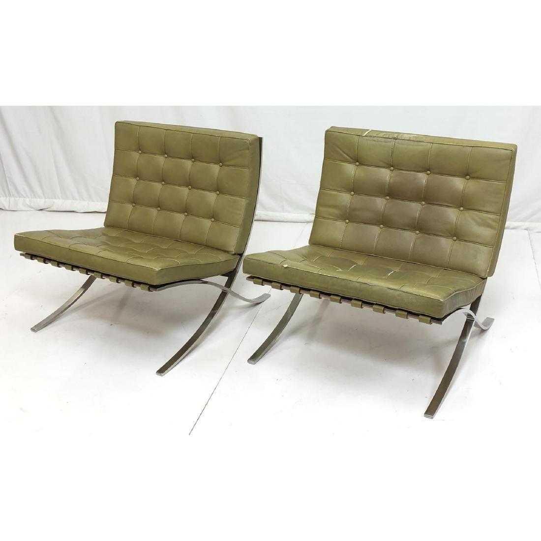 Pr Knoll Mies Van Der Rohe Barcelona Lounge Chair