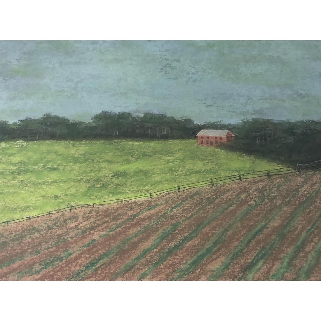 """BILL SULLIVAN Pastel on Paper 1984 """"THE SLEEPING - 5"""
