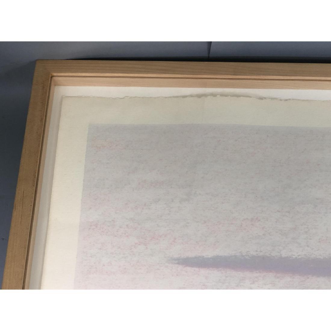 """BILL SULLIVAN Pastel on Paper 1984 """"THE SLEEPING - 7"""