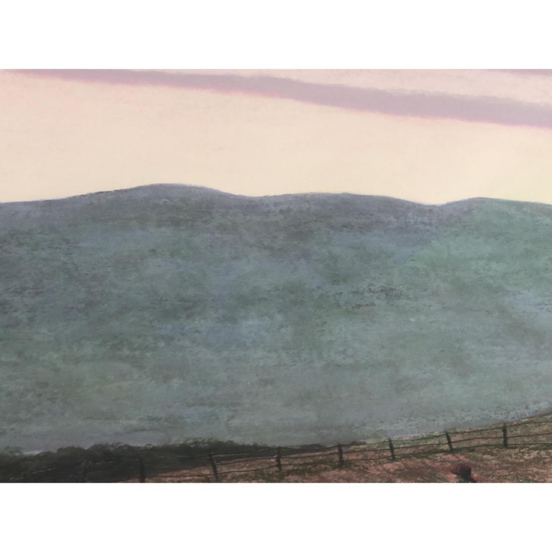"""BILL SULLIVAN Pastel on Paper 1984 """"THE SLEEPING - 9"""