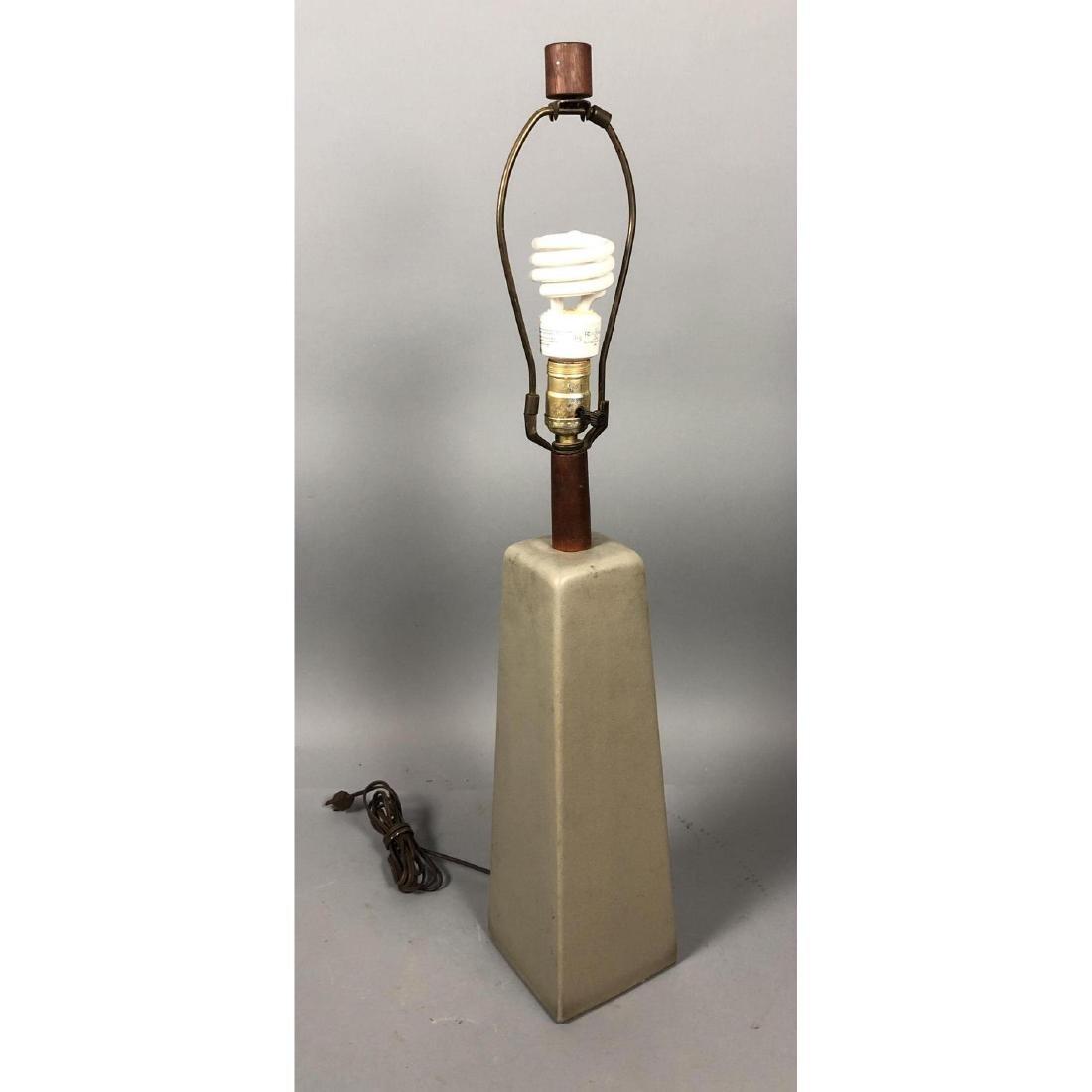 MARTZ for MARSHALL STUDIOS 4 Sided Ceramic Lamp.