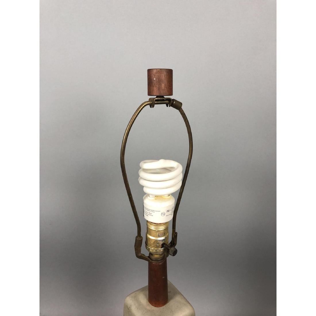 MARTZ for MARSHALL STUDIOS 4 Sided Ceramic Lamp. - 3