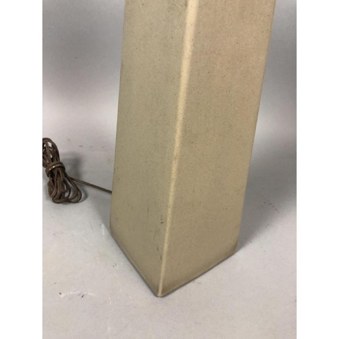 MARTZ for MARSHALL STUDIOS 4 Sided Ceramic Lamp. - 5
