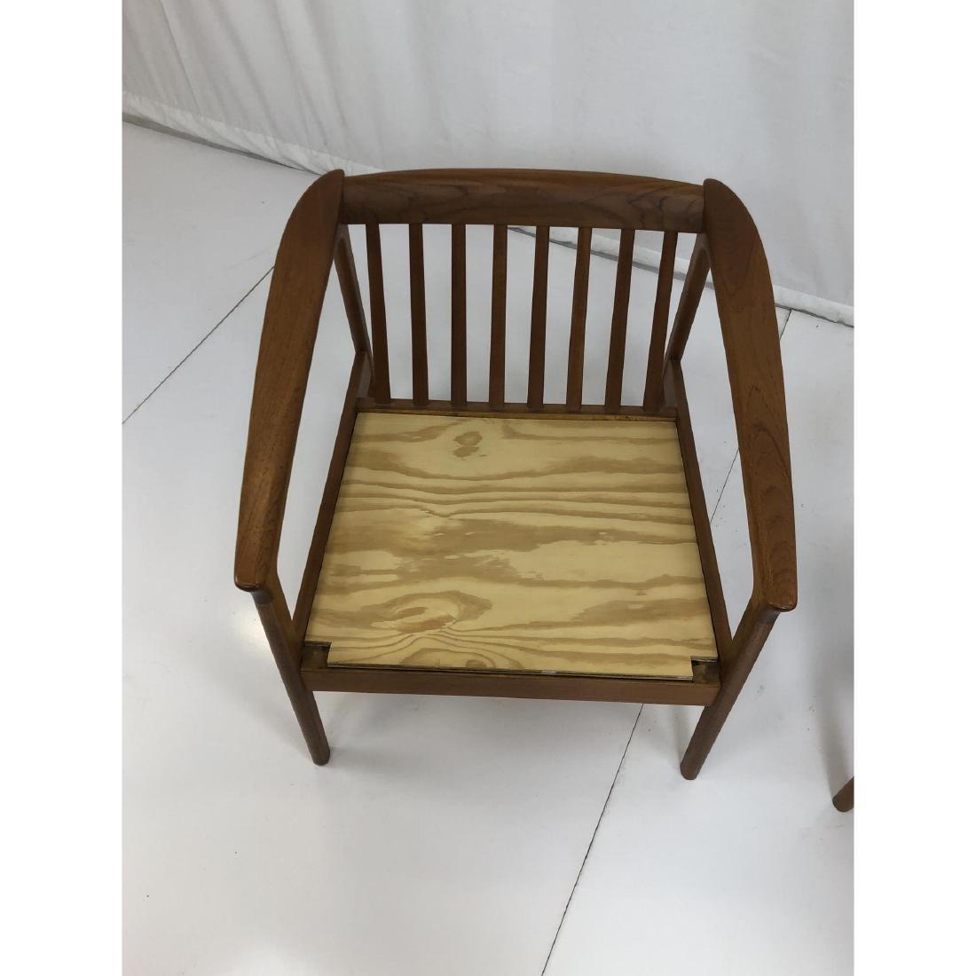 Pr FOLKE OHLSSON Danish Modern Teak Lounge Chairs - 8