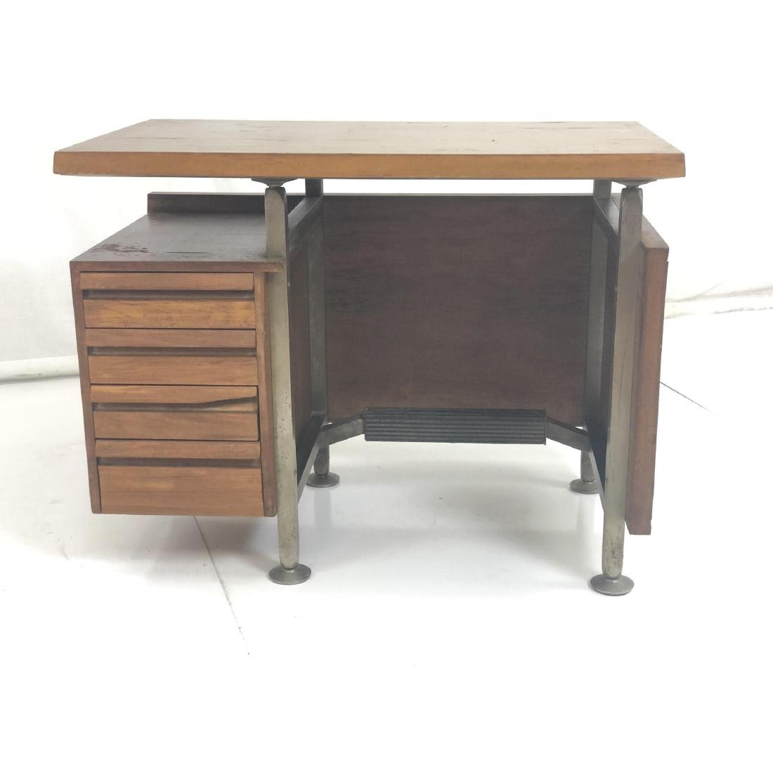 Gio Ponti style Modernist Writing Desk. Sculptura - 2