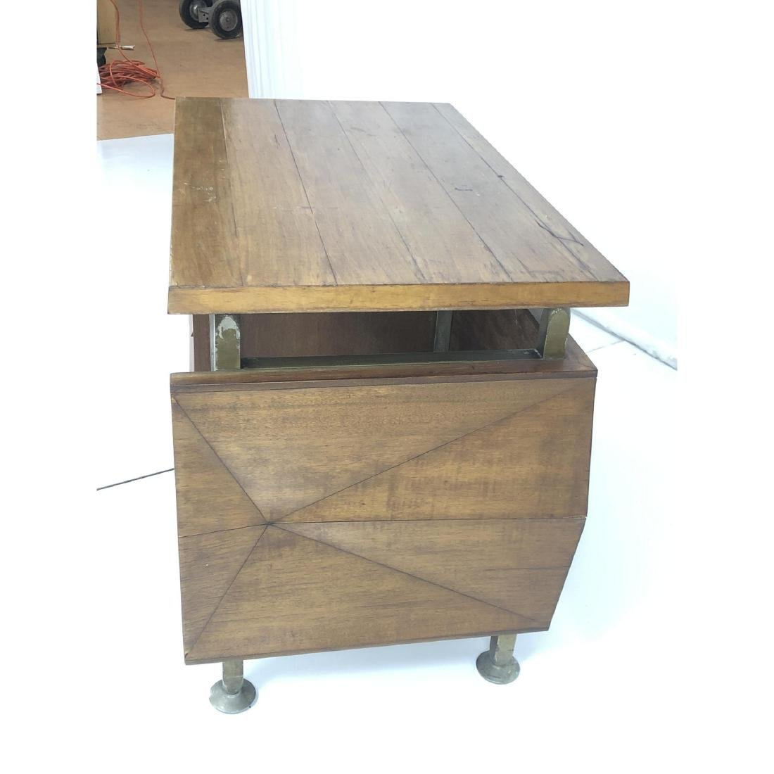 Gio Ponti style Modernist Writing Desk. Sculptura - 4