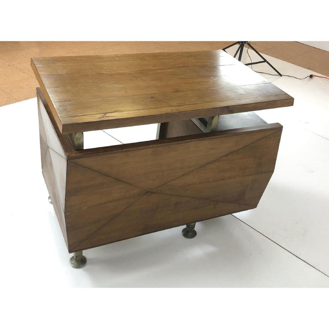 Gio Ponti style Modernist Writing Desk. Sculptura - 6