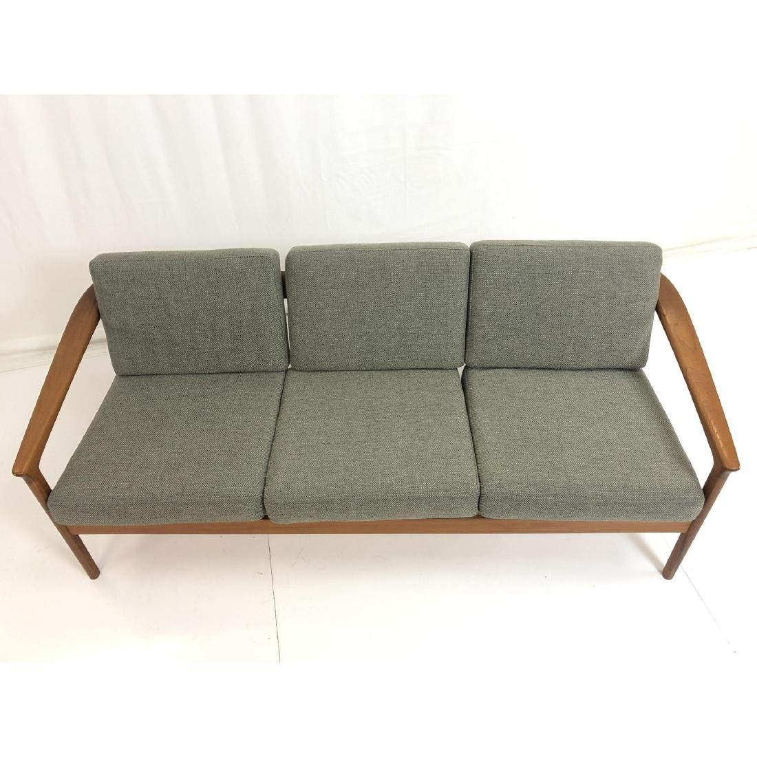 FOLKE OHLSSON Danish Modern Teak Sofa Couch . Ele - 4