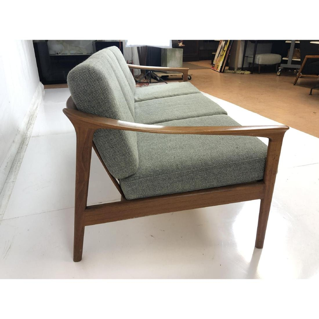 FOLKE OHLSSON Danish Modern Teak Sofa Couch . Ele - 5