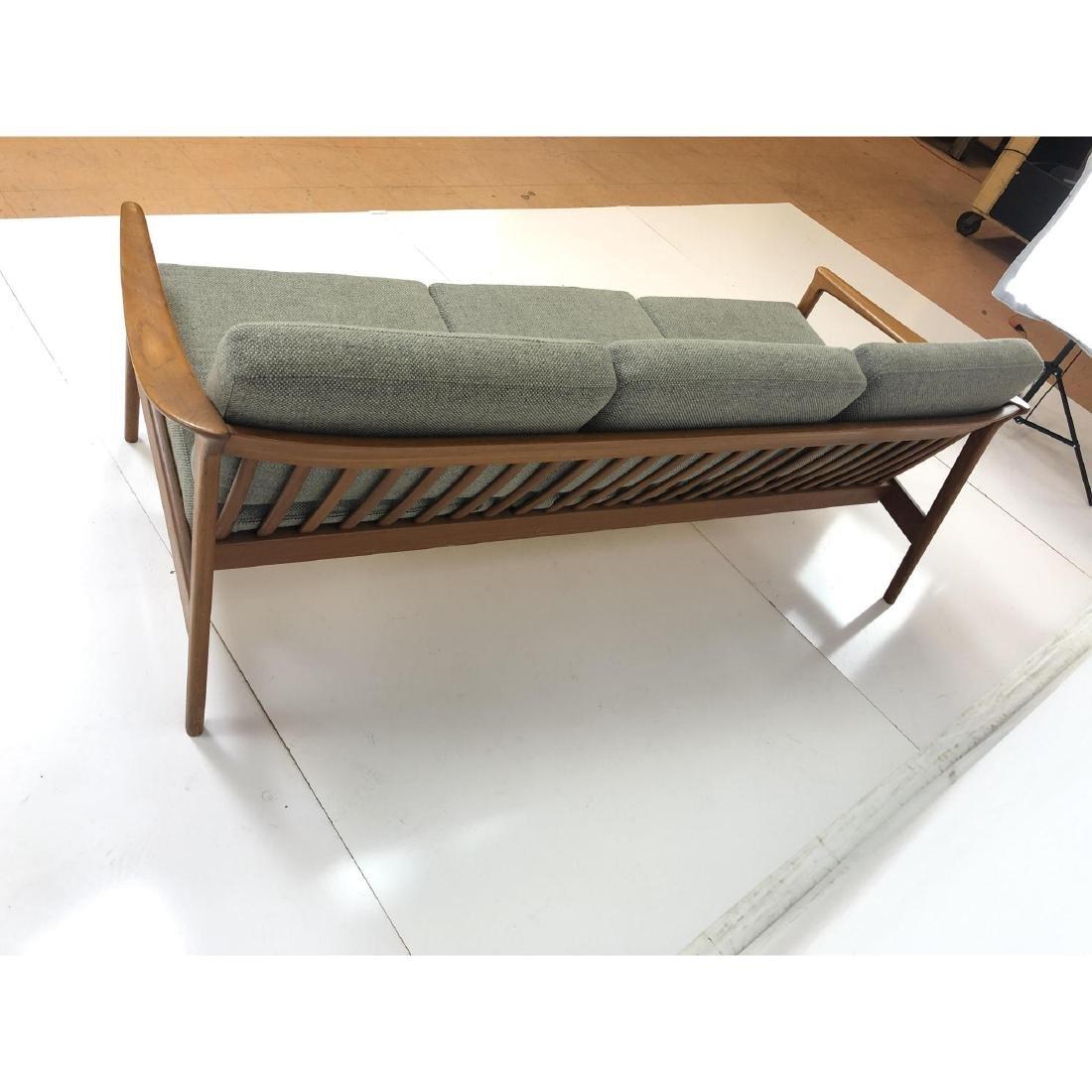 FOLKE OHLSSON Danish Modern Teak Sofa Couch . Ele - 6